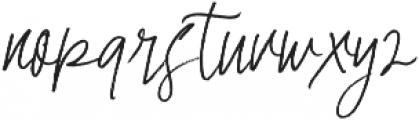 Master Brush otf (400) Font LOWERCASE