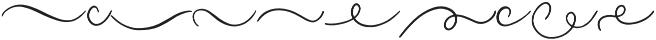 Masterblush Swash otf (400) Font LOWERCASE