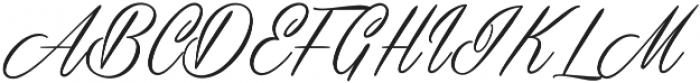 Masterics otf (400) Font UPPERCASE