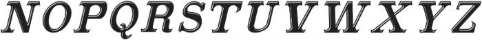 MasterpieceITALIC Masterpiece otf (400) Font LOWERCASE