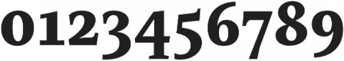 Mastro Caption Extra Bold otf (700) Font OTHER CHARS
