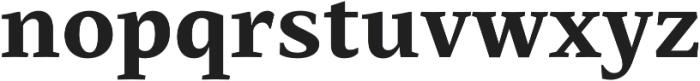 Mastro Caption Extra Bold otf (700) Font LOWERCASE