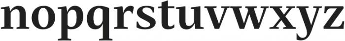 Mastro Text Bold otf (700) Font LOWERCASE