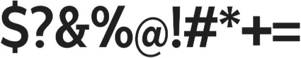 Matahari Condensed 700 Condensed Bold otf (700) Font OTHER CHARS