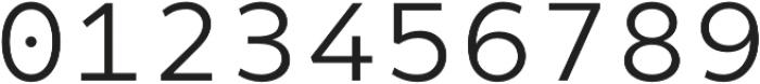 Matahari Mono 400 Regular otf (400) Font OTHER CHARS