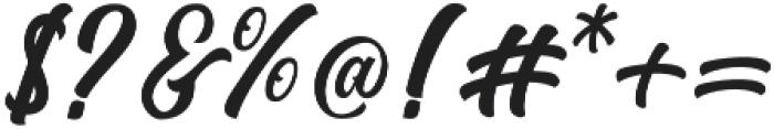 Matane otf (400) Font OTHER CHARS
