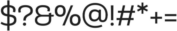 Matcha Slab otf (400) Font OTHER CHARS