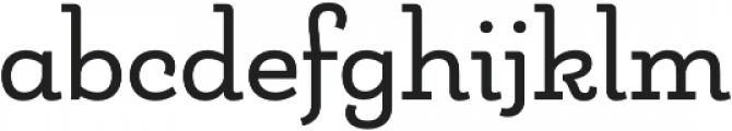 Matcha Slab otf (400) Font LOWERCASE