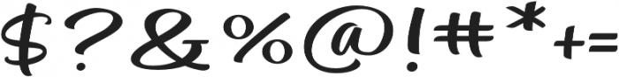 Mateo Script otf (400) Font OTHER CHARS