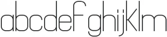 Mathematical ttf (400) Font LOWERCASE