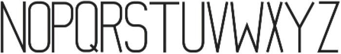 Mathematical ttf (700) Font UPPERCASE