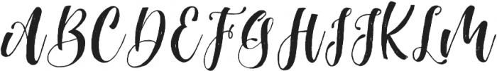 MathilaScript otf (400) Font UPPERCASE