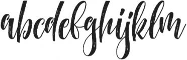 MathilaScript otf (400) Font LOWERCASE