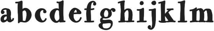 Matilda ttf (400) Font LOWERCASE