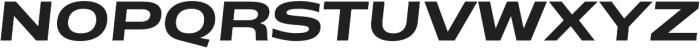 Matrice otf (700) Font UPPERCASE
