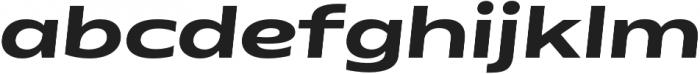 Matrice otf (700) Font LOWERCASE