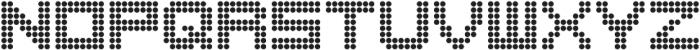 Matrix 8 otf (400) Font UPPERCASE