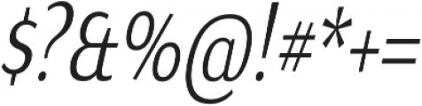 Matsuko Regular Italic ttf (400) Font OTHER CHARS