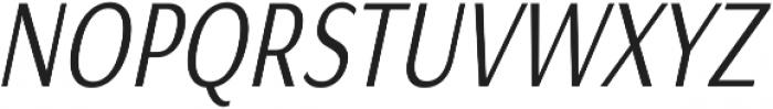Matsuko Regular Italic ttf (400) Font UPPERCASE