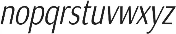 Matsuko Regular Italic ttf (400) Font LOWERCASE