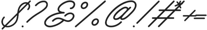 Mattcool otf (400) Font OTHER CHARS