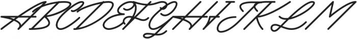 Mattcool otf (400) Font UPPERCASE