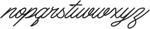 Mattcool otf (400) Font LOWERCASE