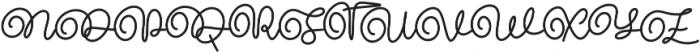 Mattea otf (400) Font UPPERCASE