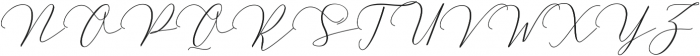 MatteoRegular ttf (400) Font UPPERCASE