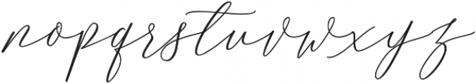 MatteoRegular ttf (400) Font LOWERCASE