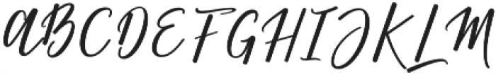 Matterhon Upright otf (400) Font UPPERCASE