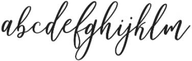 Matterhon Upright otf (400) Font LOWERCASE