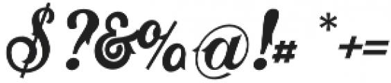 Matthew BB otf (400) Font OTHER CHARS