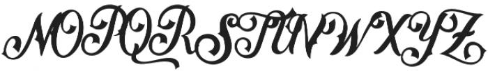 Matthew BB otf (400) Font UPPERCASE