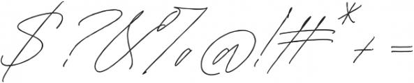 Mature Qwerty Regular otf (400) Font OTHER CHARS