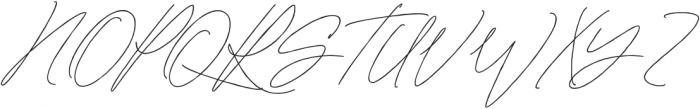 Mature Qwerty Regular otf (400) Font UPPERCASE