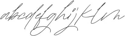 Mature Qwerty Regular otf (400) Font LOWERCASE