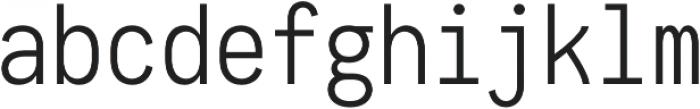 Maverick Light otf (300) Font LOWERCASE