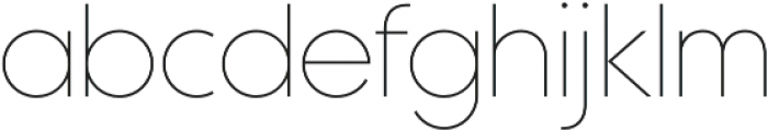 Maxi Thin otf (100) Font LOWERCASE