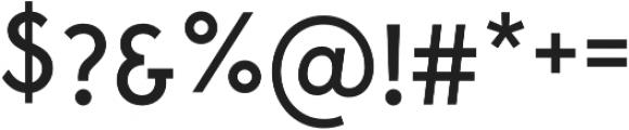 Maxim Regular otf (400) Font OTHER CHARS