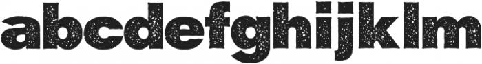 Maxner Rough Extra Bold otf (700) Font LOWERCASE