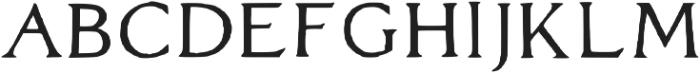 Maxon Avenue Regular otf (400) Font UPPERCASE