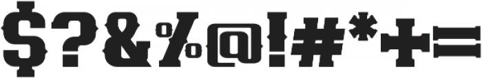 Maxton otf (400) Font OTHER CHARS