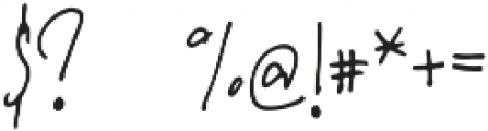 Maxwell Regular otf (400) Font OTHER CHARS