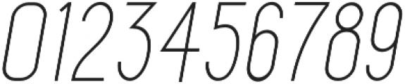 Maxwell Sans Light Italic otf (300) Font OTHER CHARS