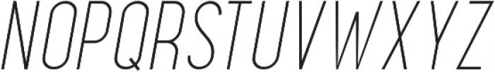 Maxwell Sans Light Italic otf (300) Font UPPERCASE