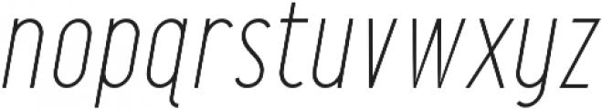 Maxwell Sans Light Italic otf (300) Font LOWERCASE