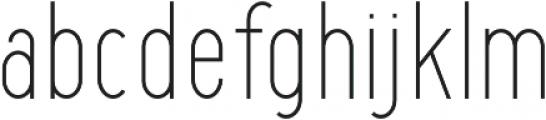Maxwell Sans Light otf (300) Font LOWERCASE
