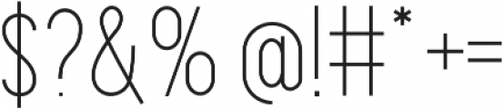 Maxwell SmCaps Light otf (300) Font OTHER CHARS