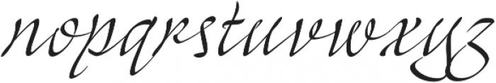 Mayence Premium otf (400) Font LOWERCASE